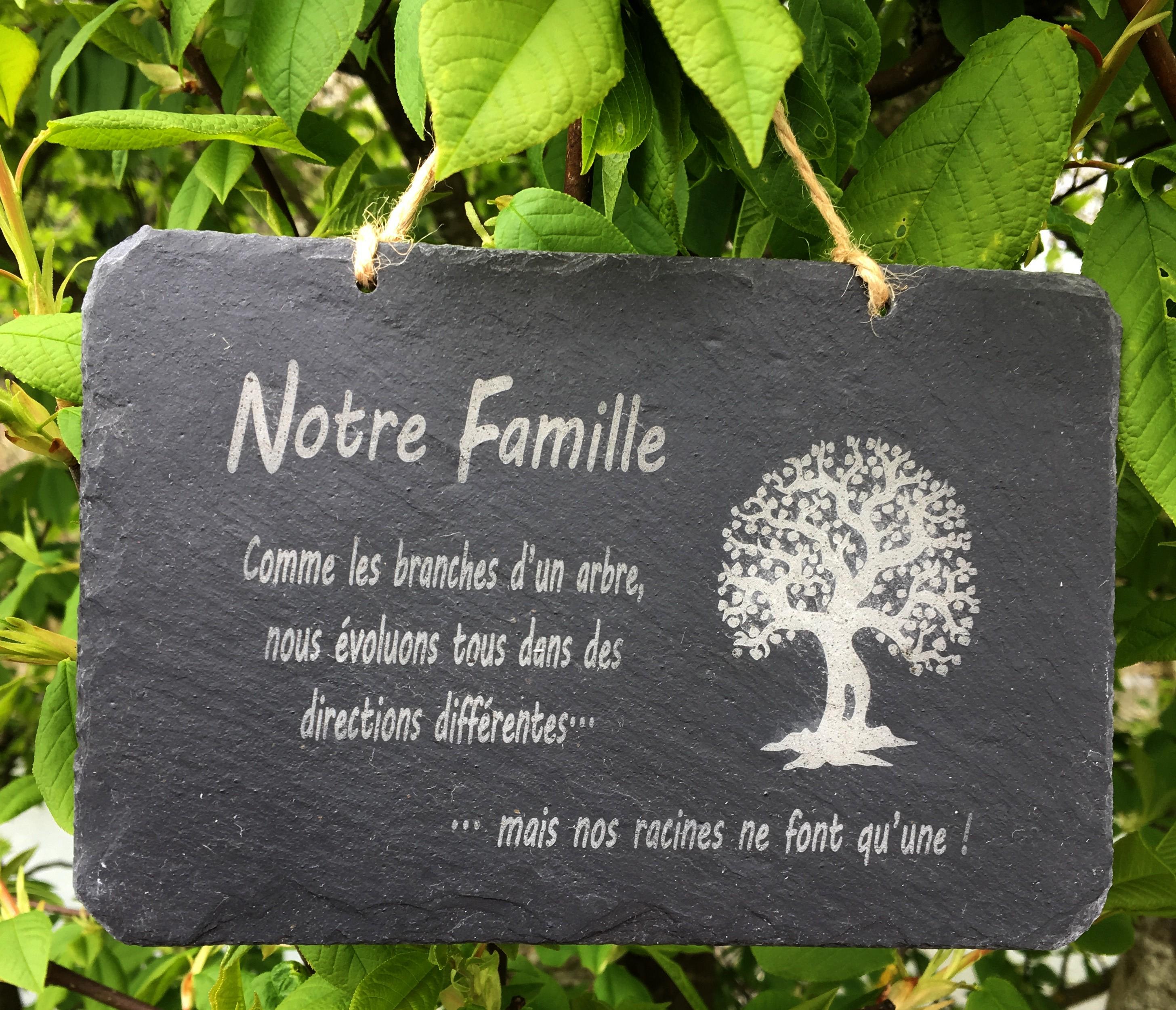 notre famille, comme les branches d un arbre