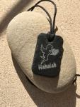 pendentif ange gardien Hahaiah ardoise naturelle gravée
