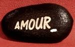 galet gravé à personnaliser St Valentin mariage amour