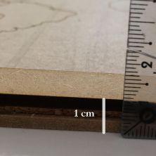 Planisphère épaisseur 1cm