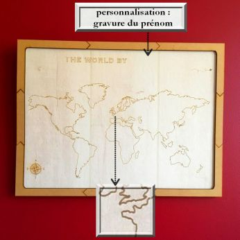 planisphère zoom personnalisation