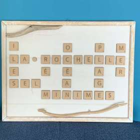 Scrabble personnalisé thème La Rochelle