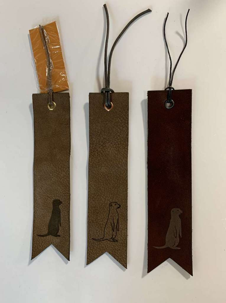marque-page cuir personnalisé